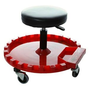 Traxion Round Creeper Seat