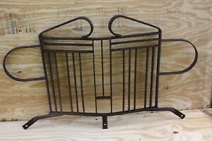 Old Jeep Grill Guard Military Wrought Iron Custom Bantam Us Army Willys M38 Cj