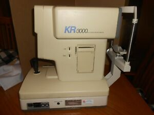 Topcon Kr 3000 Autorefractometer Keratometer Excellent Condition