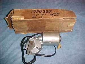1957 1958 Chrysler Desoto Plymouth Dodge Car Variable Speed Windshield Wiper Nos