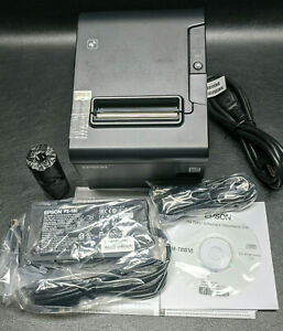 Epson Tm t88vi 061 Point Of Sale Thermal Receipt Printer M338a Ethernet Usb