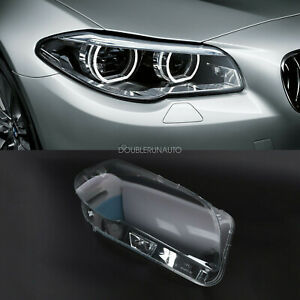 Right Side Headlight Clear Lens Cover For Bmw F10 F18 520 523 525 535 530 10 14