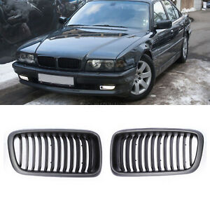 Front Kidney Grille For 1998 2001 Bmw E38 7 Series Saloon 4d 740i 740il 750il