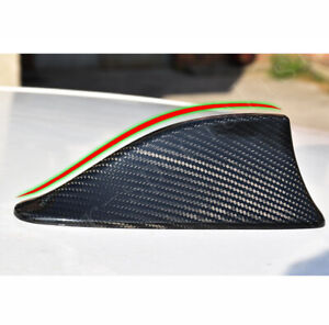 Carbon Fiber Shark Fin Antenna Cover Radio Decor Trim Fit For Bmw 535i 2004 2016