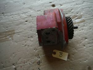 Ih Farmall Super M 400 450 Tractor Live Hydrualic Pump With Gear 8