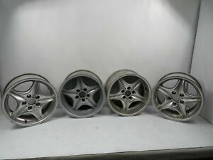 00 Bmw Z3 M Roadster E36 1132 Wheel Set Roadstar Style 40 Staggered Oem