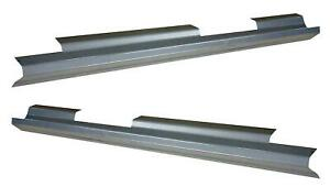 Slip On Rocker Panel For 99 06 Gmc Sierra Chevy Silverado Avalanch Crew Cab Pair