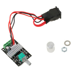 Electronic Pwm Motor Speed Controller Adjustable Reversible Motor Driver Switch