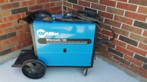 Miller Millermatic 185 Mig Wire Welder 200 230v Tested Buy It Now Auction