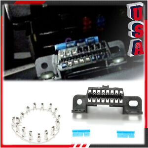 Obd2 Ii 16pin Female Connector Obdii Cable Car Auto Adapter Plug Shell Kit