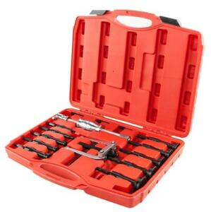 16pcs Blind Hole Pilot Internal Extractor Remover Bearing Puller Set Carry Case