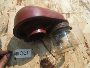 Ih Farmall M 400 450 Tractor Air Cleaner Top With Jar 201