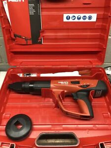 Hilti Dx 460 Powder Actuated Fastening Tool With Case Immaculate