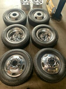 Six 2018 2020 Ford F350 Dually Factory 17 Wheels Tires Oem Rims 3618 3619 4x4