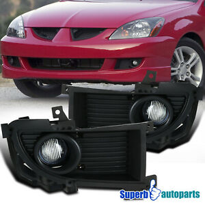 For 2004 2005 Mitsubishi Lancer Style Fog Lights W switch bulbs