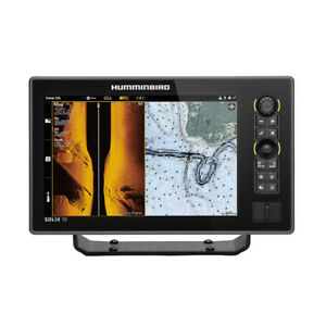 FREE 2 Day Delivery Humminbird SOLIX 10 CHIRP MEGA SI Fishfinder GPS Co