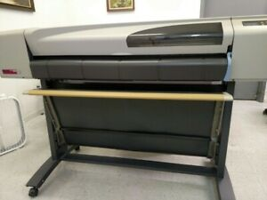 Hp Designjet 500 42 Wide Format Plotter W rolling Stand