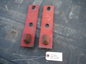 Ih Farmall Super M Tractor Cultivator Line Up Pins With Brackets 256