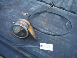 Ih Farmall 140 Tractor Factory Tachometer With Bracket 278