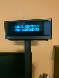 Logic Controls bematech Ld9900up Usb Pole Display With Mounting