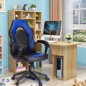 Leather Racing Gaming Chair Executive Bonded Modern Computer Office Chair