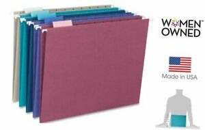 Hanging File Folder With Tab 1 5 cut Adjustable Tab Letter Size Assorted Col