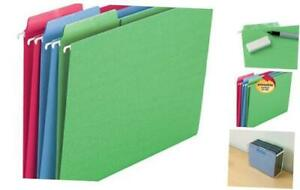 Erasable Fastab Hanging File Folder 1 3 cut Built in Tab Letter Size Assorte