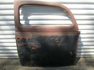 Original 1937 1938 1939 1940 Ford Sedan Rh Passenger Door Shell 2 Nice