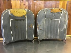 Mg Midget Mgb 1963 67 Early Seat Grab Bag 2 Top Pieces For Parts
