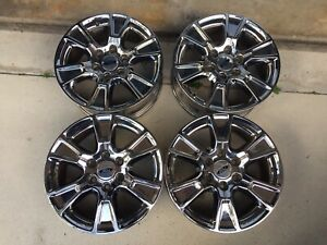 Ford Factory Oem F150 Expedition Chrome Rims 18 Set Of 4