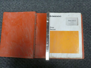 Doosan Daewoo Solar 450 Iii Excavator Shop Service Repair Manual S n 0004 Up