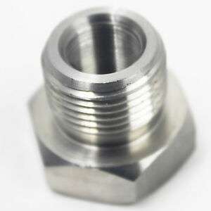 1 2 28 To 3 4 16 Threaded Adapter Stainless Steel Automotive Oil Filter Adapter