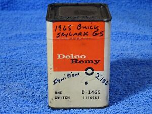 1965 Buick Skylark Gs Delco Remy Ignition Switch Nos