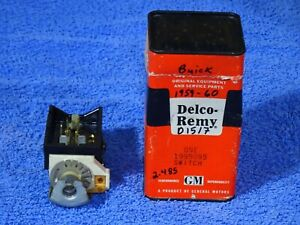 1959 1960 Buick Delco Remy Headlamp Switch Nos