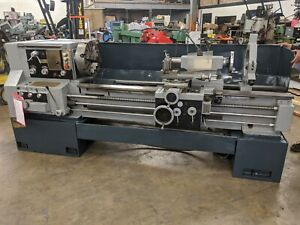 22 31 X 60 Gap Bed Engine Lathe 2 Hole Threading 16 4 jaw Steady Rest