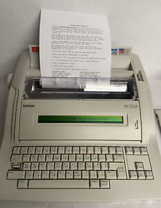 Brother Wp 700d Word Processor Electric Typewriter