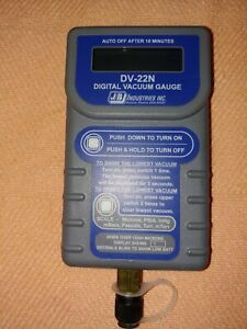 Jb Industries Micron Gauge