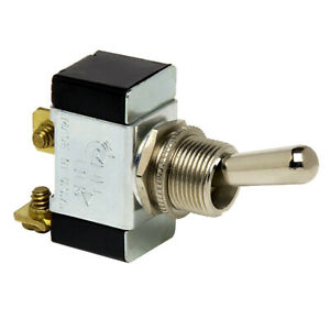 Cole Hersee Heavy Duty Toggle Switch Spst On off 2 Screw
