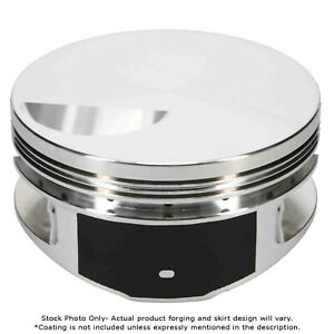Je Pistons For Chevy Big Block Flat Top 4 466 Inch Bore 257983