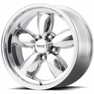 17x9 Polished Wheel American Racing Vintage Vn504 5x4 5 0