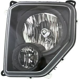 Headlight For 2010 2012 Jeep Liberty Driver Side W Bulb