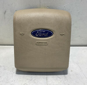2007 2014 Ford Expedition Left Driver Side Wheel Airbag Tan Oem