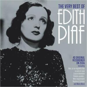Edith Piaf VERY BEST OF 40 Original Recordings ESSENTIAL COLLECTION New 2 CD $6.99
