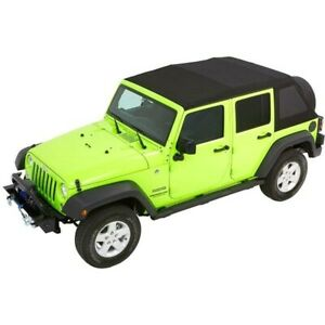 54923 35 Bestop New Soft Top Black For Jeep Wrangler Jk 2018