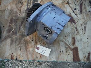 Ih Farmall Super M 400 450 Tractor Hydraulic Pump With Gear 41