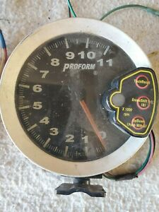 Proform Tachometer Gauge Recall 11000 Rpm 5 Electrical Mag