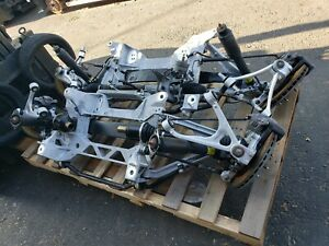 05 13 Corvette C6 Front And Rear Crossmember With Suspension Z51 Pair