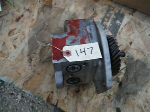 Ih Farmall Super M 400 450 Tractor Hydraulic Pump With Gear 147