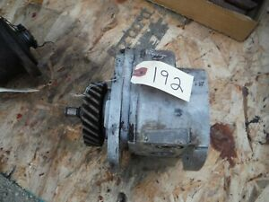 Ih Farmall Super M 400 450 Tractor Hydraulic Pump With Gear 192
