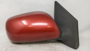 2009 2013 Toyota Corolla Passenger Right Side View Power Door Mirror Red 64720